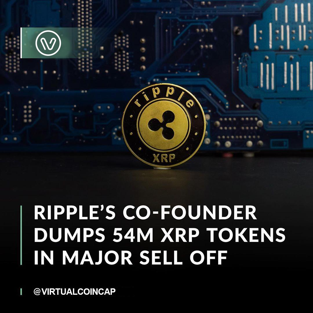 Ripple co-founder Jed McCaleb sold more than 54 million XRP in April and still has billions left to sell
