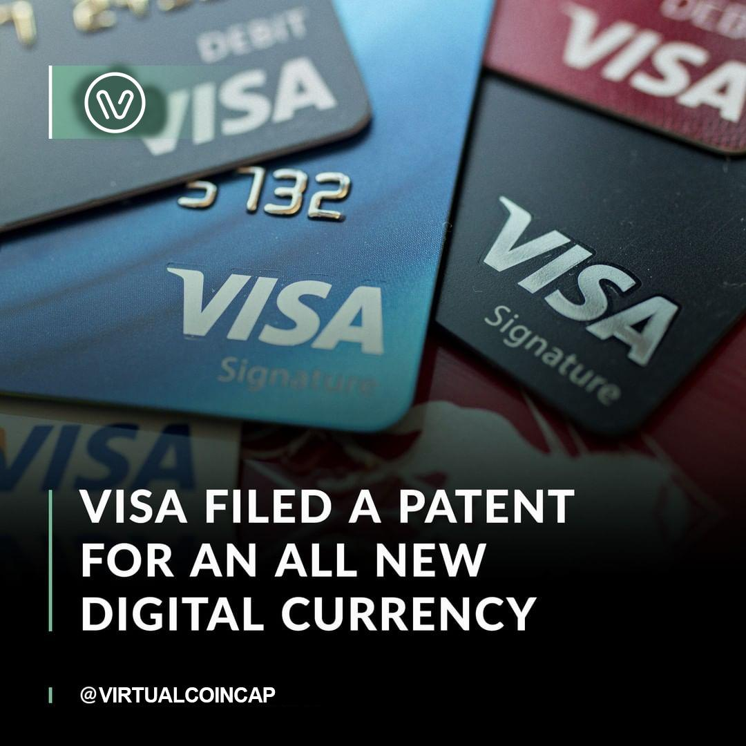 Visa has filed a patent application to create digital currency — potentially using Ethereum as the blockchain.