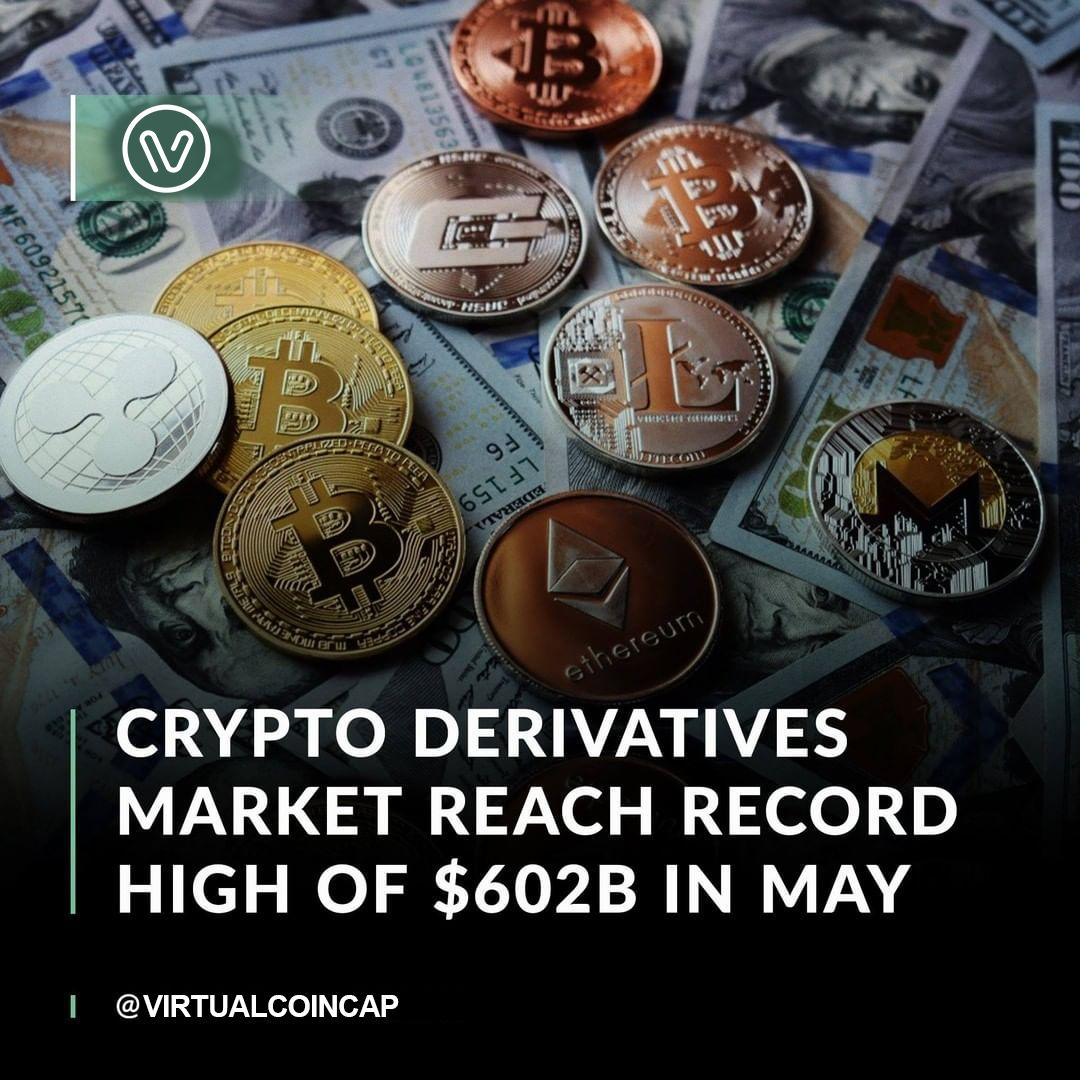 A flurry of crypto options activity ahead of Bitcoin's halving contributed to derivative volumes hitting a new all-time high in May.