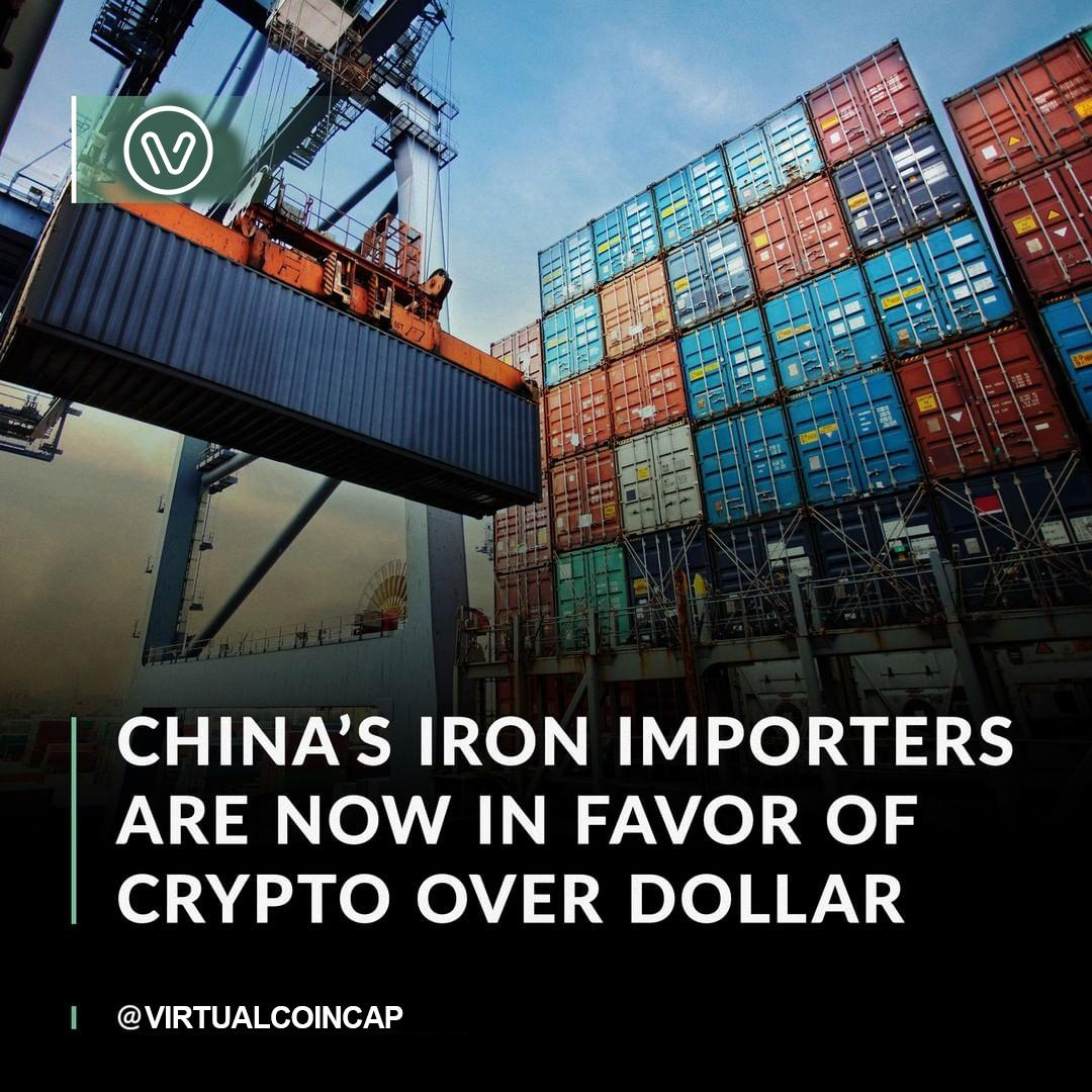 Chinese iron ore importers want to adopt the digital yuan to make transactions less dependent on American currency.