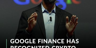 Google Finance has added crypto prices to the finance.google.com domain. The section