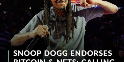 American rapper and media personality Snoop Dogg recently shared his thoughts on Bitcoin and non-fungible tokens (NFTs) during an interview with Vanity Fair.