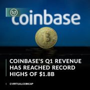 Coinbase has announced impressive first-quarter results one week before the exchange's direct listing on Nasdaq