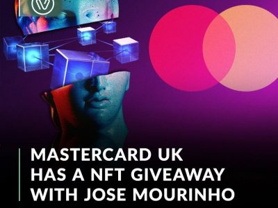 Mastercard UK creates its first NFT as a part of a sweepstake for a random