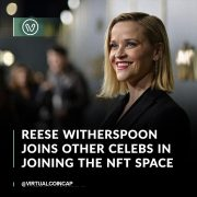 Actress Reese Witherspoon is dipping her toe into the crypto world